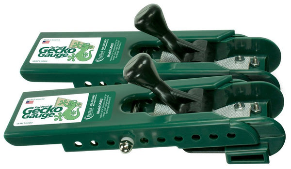 "Pactool SA903 Gecko Gauge Hardi Board Siding Gauge, 4"" - 8"", 2 Pair/Pack"
