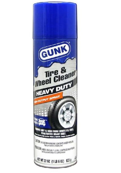 Gunk TFWC22 Tough Heavy Duty Truck Tire And Wheel Cleaner, 22 Oz