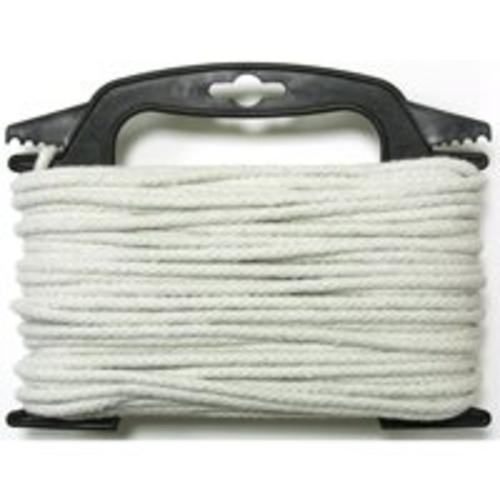 "Wellington CCL6100-4W Clothesline Cotton Cord, 3/16"" x 100'"