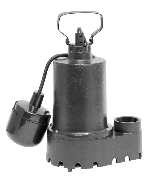 Superior Pump 92331 Tethered Iron Sump Pump, 1/3 Hp