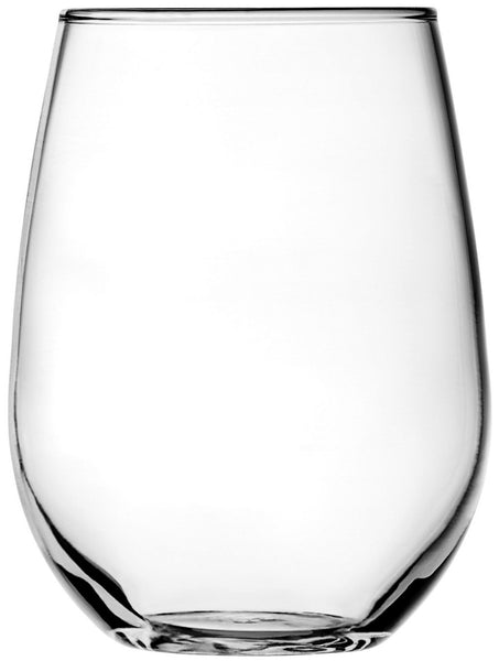 Anchor Hocking 95141 Vienna Stemless White Wine Glass, 15 Oz, 3/Pack