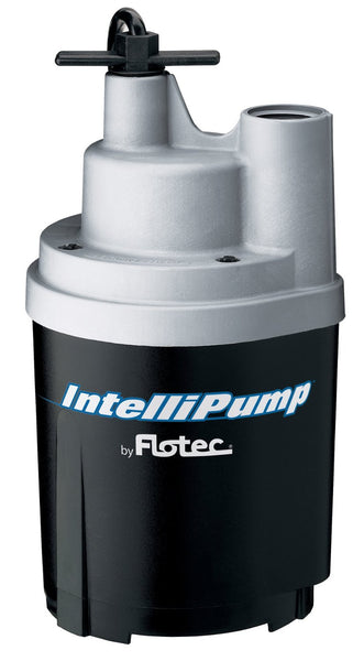 Flotec Intellipump FP0S1775A Intellipump Water Removal Utility Pump, 1/4 HP