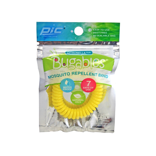 PIC BUG-COILBANDTS Bugables Mosquito Repellent Band, Assorted Colors