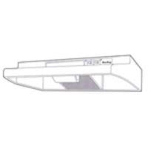 "Air King AV1366 Convertible Range Hood, 36"", Black"