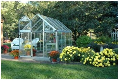 Palram Americas 701273 Snap Grow Greenhouse kits, 6' x 8'