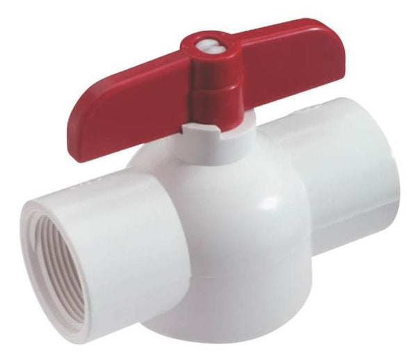 King Brothers EBV-0750-T Threaded Ball Valve, 140 Degree