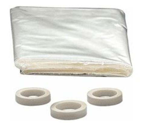 "M-D Building 04283 Patio Door Shrink Seal Kit, 84"" x 110"""