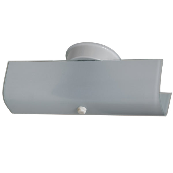 Boston Harbor V88WH02-4413H-3L Bathroom Two Light Fixture, White