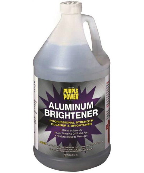 Purple Power 4120P Aluminum Brightener, 128 Oz.