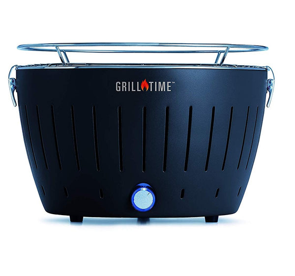 Grill Time UPG-G-13 Portable Grill, Gray