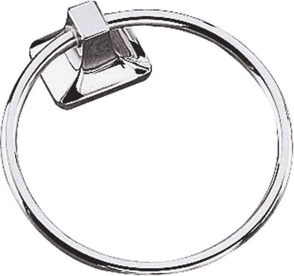 Mintcraft 41921670 Aluminum Towel Ring, Chrome