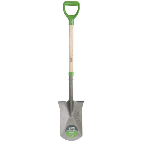 "Ames 2593800 Garden Spade with 24"" Wood Handle"