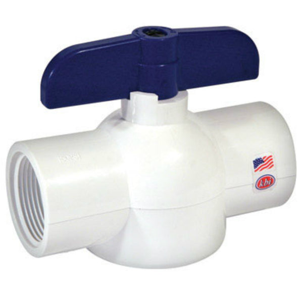 King Brothers EBV-1000-S Ball Valve, 1""