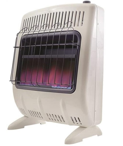 Mr Heater F299721 Vent-Free Blue Flame Natural Gas Heater w/Thermostat 20K BTU