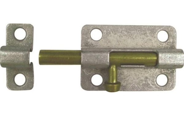 Prosource 20470MGS-PS Barrel Bolts, Galvinized, 2-1/2""