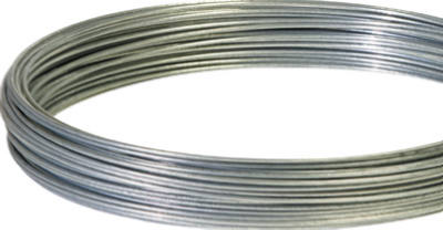 Hillman 123136 Single Coil Galvanized Wire, 100', 14 Gauge