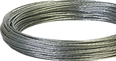 Hillman 122339 Solid Galvanized Wire 100', 12 Gauge