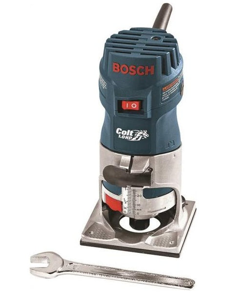 Bosch PR10E Colt Single Speed Corded Palm Router , 35000 Rpm