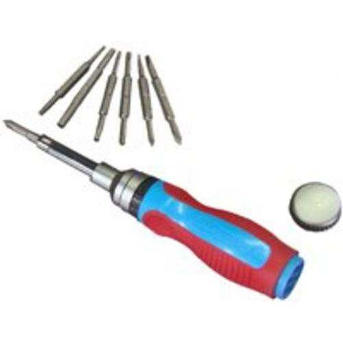 Channellock 181CB 18-In 1 Multi Bit Ratcheting Screwdriver