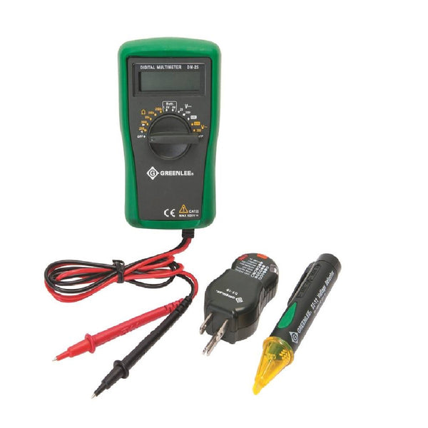 Greenlee TK-30A Electrical Tester Kits, 3 Piece