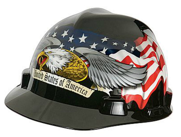 MSA 10124207 Safety Hats, American Eagle