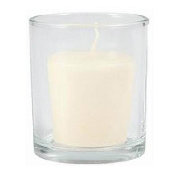 Candle Lite 3903130 Reversible Candle Holder, Glass