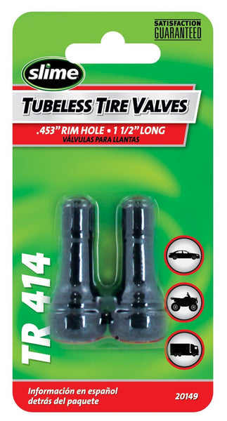 Slime 20149 Tubeless Tire Valve, 1-1/2""