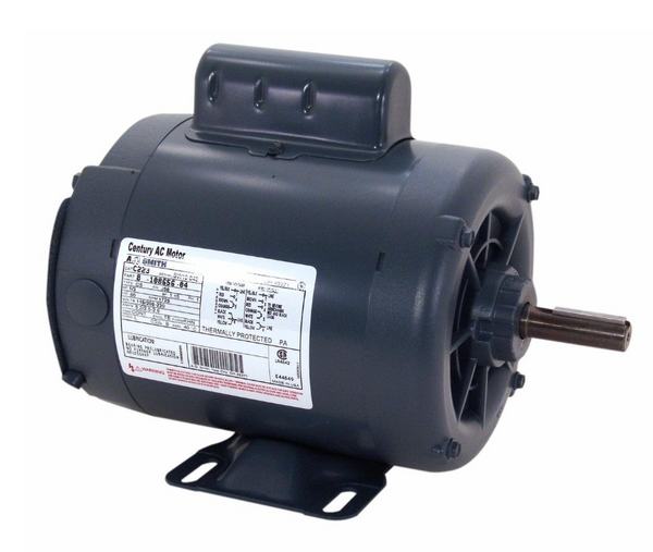 Century C645 Electric Start Motor, 1/2 HP, 1725 Rpm