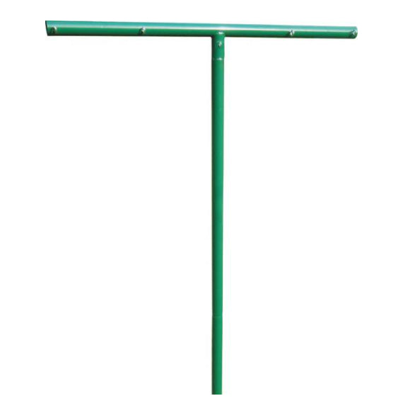 Stephen Pipe & Steel CLP00804 Clothes Line Pole, Gogreen, 8' x 4'