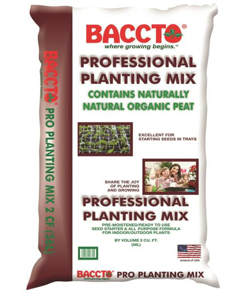 Baccto 1732 Professional Planting Mix, 2 Cu Ft