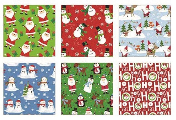 Holiday Basix 68105 Juvenile Christmas Gift Wrapping Paper, 35 Sq. Ft.