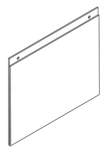 "Southern Imperial R16-11X85AHFSH Sign Holder, 8.5""x11"""