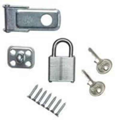 Stanley 39-9720 Safety Hasps & Padlock, 3.5""