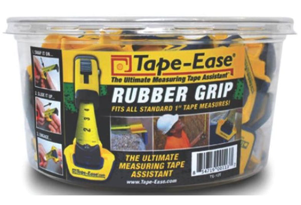 Tape-Ease TE-12T Rubber Grip Tape-Ease Tub, 50 Count Tub