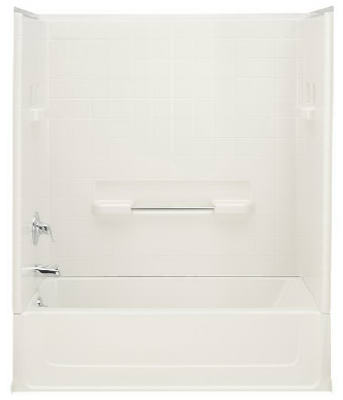 Right Hand Drian Bath Tub 5' -  White