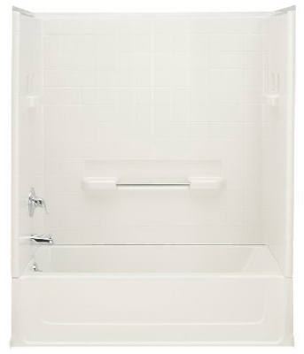 Left Hand Bath Tub 5' - White