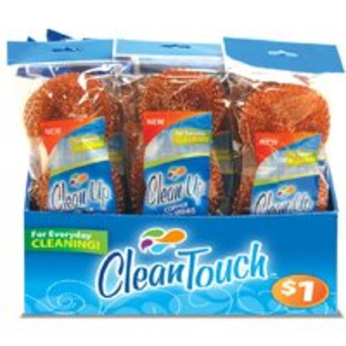 Clean Up 8872 Cleaning Scourer 3-Pack, Copper