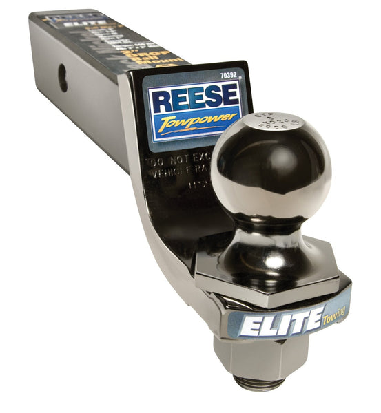 Reese 70392 Class III Interlock Ball And Ball Mount Combination