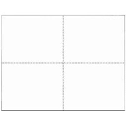 "Docuprint Forms & Signs 4 Sheet White Outdoor Sign 5-1/2""x4-1/4"", White"