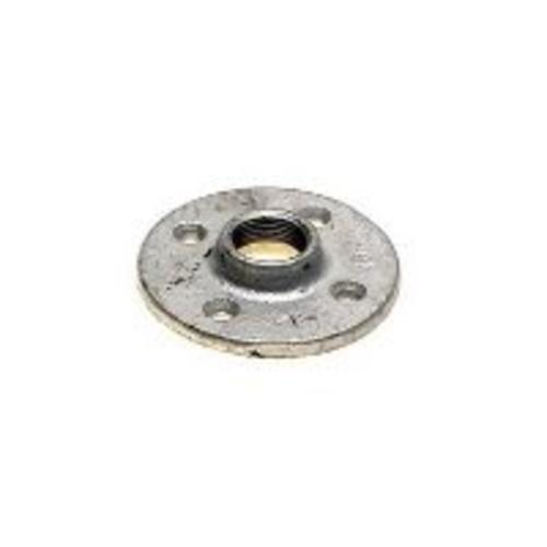 "Worldwide Sourcing 27-11/2G 1-1/2"" Galvanized Malleable Iron Floor Flange"