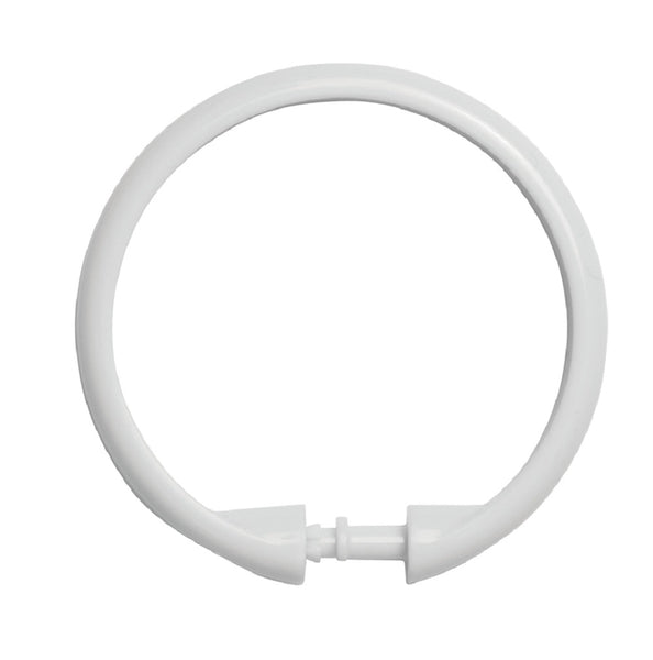 Kenney KN61217 Smooth Shower Ring, White
