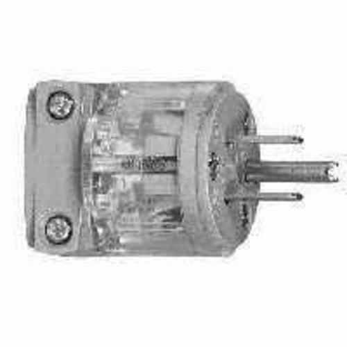 Cooper Wiring WD8266-BOX 3 Wire Grounded Hospital Plug, 15 Amp
