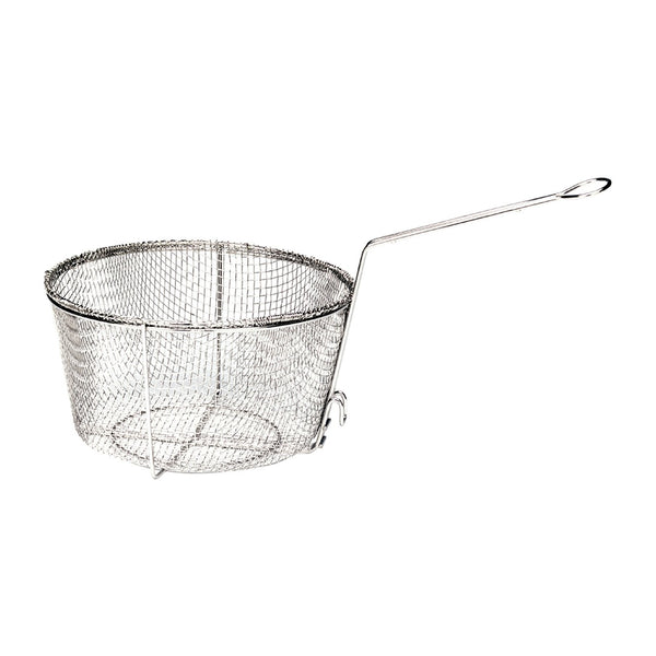 "Bayou Classic 0125 Nickel Plated Fry Basket, 11"" W  x 5.5"" H"