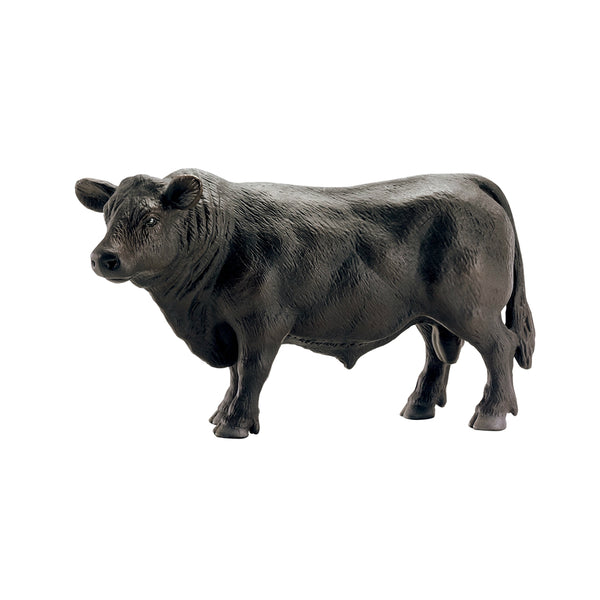 Schleich 13879 Angus Bull Toy Figure, Black