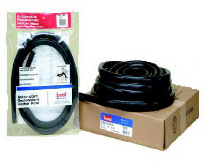 "Thermoid 1826 Reinforced EPDM Black OEM Automobile Heater Hose, 5/8"" x 50'"