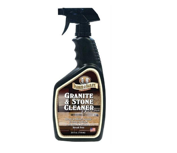Parker & Bailey 144001 Granite & Stone Cleaner, 24 Oz