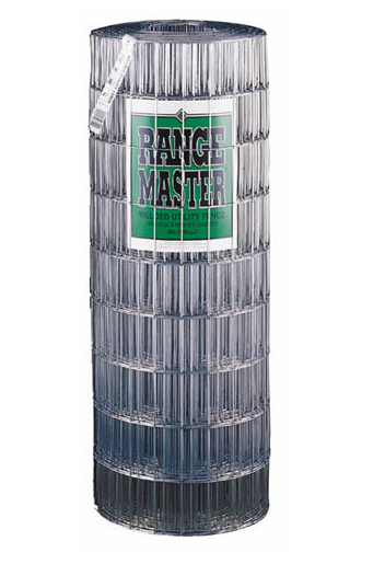 "Rangemaster 2""X4""X14GA-60"" Galvanized Welded Wire, 60"" x 50'"