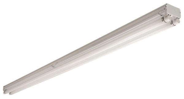 Acuity C296T8HO Fluorescent Strip Light Fixture, Two Lamps, 8'