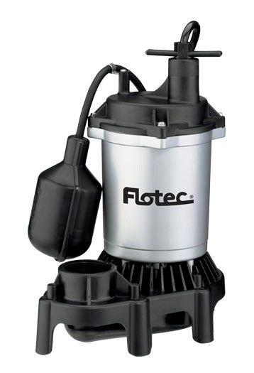 Flotec FPZS50T Submersible Thermoplastic Sump Pump, 1/2 HP