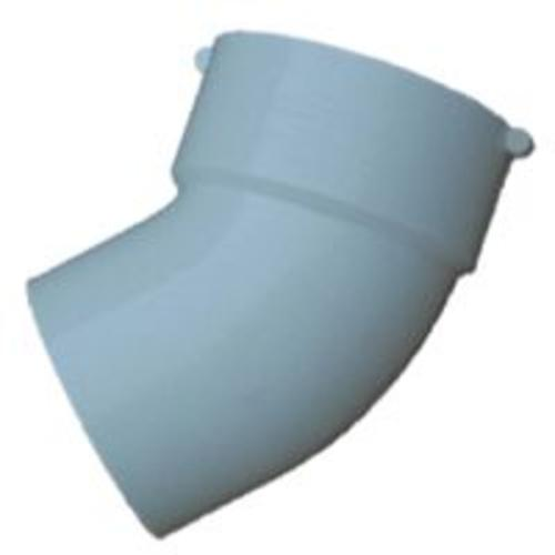 Genova 42760 Pvc S&D 45 Degreen Street Elbow 6""